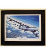 "Black Framed Print (12"" X 16"") of a Boeing B-47 Stratojet climbing to al... - $29.65"