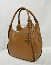 NWT Michael Kors Bedford Belted Large Leather Shoulder Tote in Luggage B... - $279.00