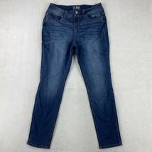 NOBO Jeans Juniors Size 17 Blue Skinny Mid Rise Pants - $18.95
