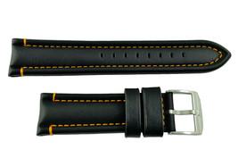 Genuine Luminox-F-35Lightning 9380/9388 24mm Black Watch Band Strap  - $74.95