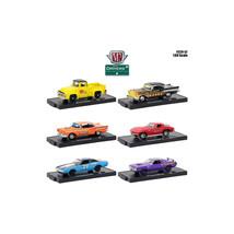 Drivers 6 Cars Set Release 52 in Blister Packs 1/64 Diecast Model Cars b... - $54.68