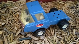 """Vintage Tonka blue truck cab pressed steel 8"""" excellent condition - $26.17"""