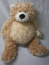 "GANZ VERY SOFT BIG LIGHT BROWN 15"" TEDDY BEAR Plush Stuffed Animal TOY - $19.80"