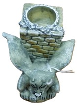 Gargoyle Candlestick Holder With Eye Ball By Paper Magic Group - Halloween - $4.99