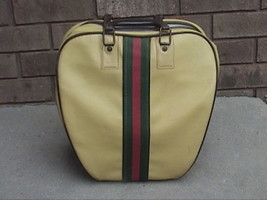 BRUNSWICK  BOWLING BALL WITH CARRYING BAG - $55.00