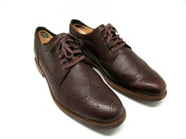 Cole Haan WingTips Brown Size 12 M Lace up Oxford Shoes Cooper - $47.53