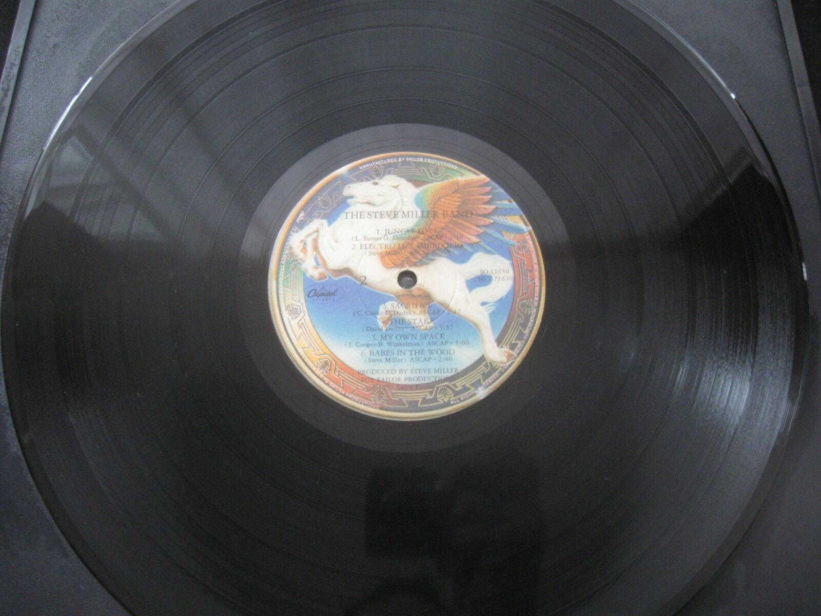 Steve Miller Band Book Of Dreams Capitol SQ-11630 Vinyl Record LP Open Shrink image 7