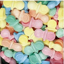 Dubble Bubble Oh Baby Pacifiers Uncoated Candy, 1 Pounds Vending. - $6.86