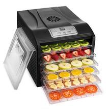 Food Preserver Dehydrator Multi-Tier Fruit Veggies Meat Drying Racks Mac... - £102.05 GBP