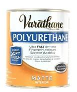 1 Can Varathane 32 Oz Polyurethane 266233 Matte Interior Ultra Fast Dry ... - $21.99