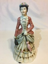 "1972 NAAC Avon Clubs Figurine Decanter Bottle # 2174 Lady Umbrella 7.75""... - $14.99"