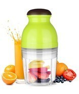 3 Colors 600ml Baby Food Processor Electric Blender Agitator Chopper Mix... - $74.74 CAD