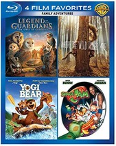 An item in the DVDs & Movies category: 4 Film Favorites: Family Adventures [Blu-ray]