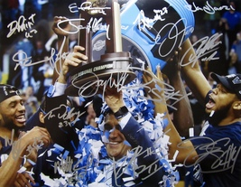 883383ff6bf 2018 VILLANOVA WILDCATS AUTOGRAPHED TEAM SIGNED 11x14 PHOTO w COA FINAL ...  -