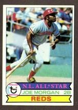 1979 TOPPS BASEBALL #20 JOE MORGAN (HOF) CARD-CINCINNATI REDS - $3.91