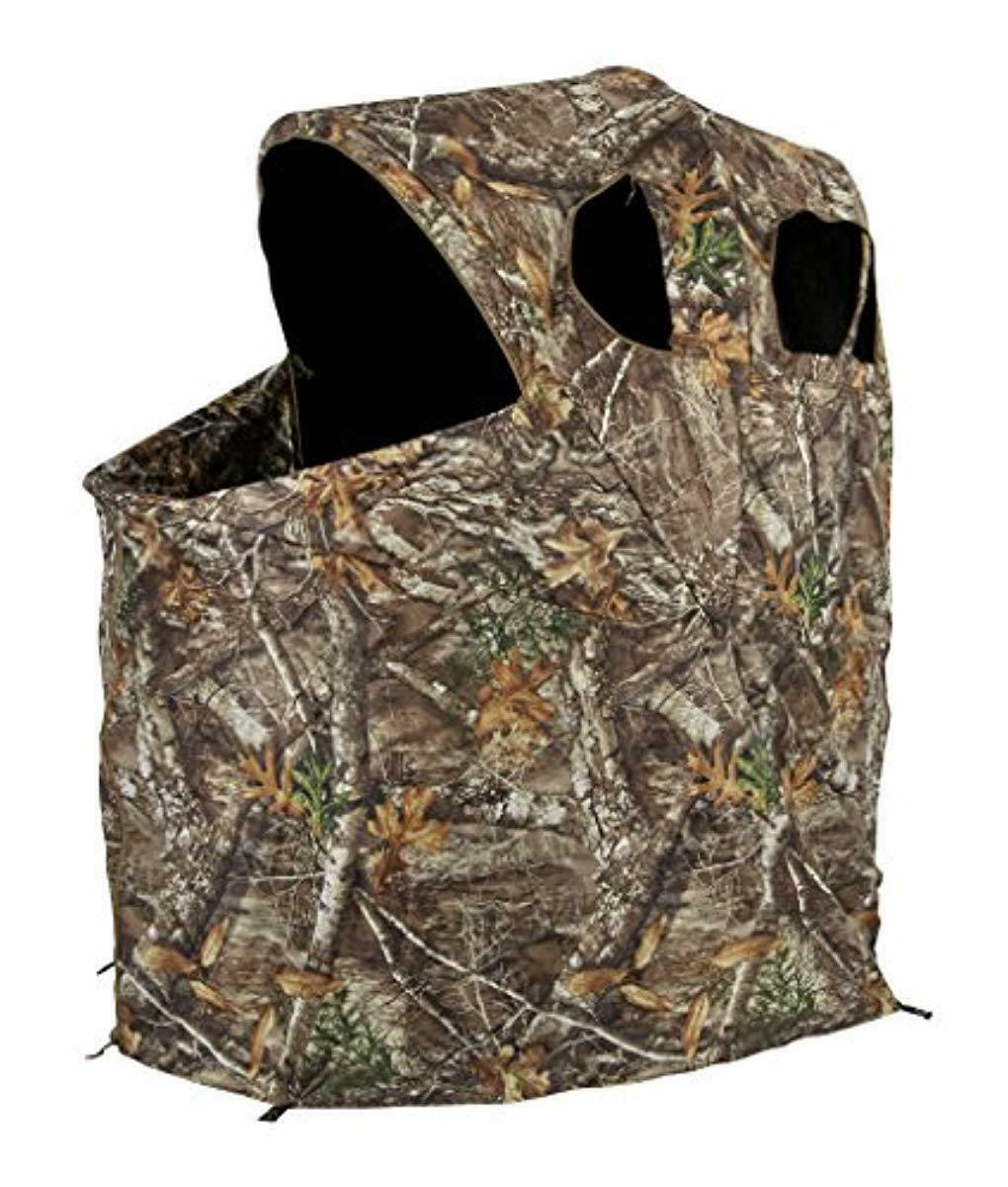 Ameristep Tent Chair Easy Fold Over Ground Blind Realtree