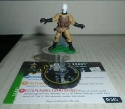 Johann Kraus 005 Heroclix Horrorclix Hellboy and the BPRD - $8.59