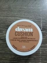 Maybelline New York Dream Cushion Liquid Foundation On-The-Go  Caramel 5... - $7.79