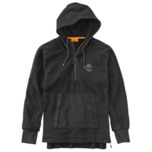 TIMBERLAND A1MBL-001 MEN'S BLACK 1/4 ZIP PULLOVER HOODIE - $80.36