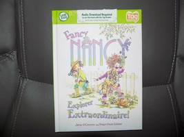 LeapFrog Tag Reading System Fancy Nancy Explorer Extraordinaire Book - $22.00