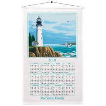 Lighthouse Calendar Towel-PLAIN - $15.24