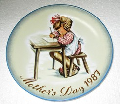 """Hummel Mother's Day Plate 1987 West Germany 7 3/4"""" - $8.95"""