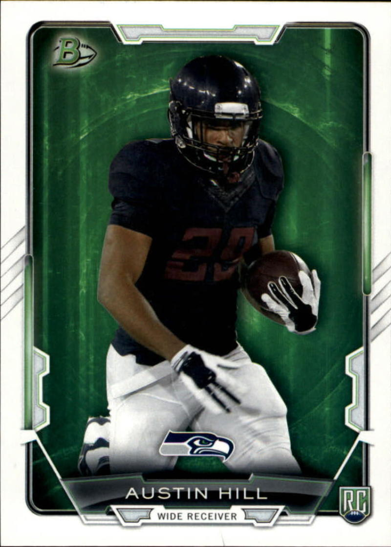 Primary image for 2015 Bowman Rookies #64 Austin Hill NM-MT RC Rookie Seahawks