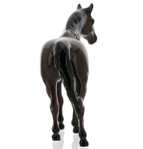 "Hagen-Renaker Miniature Ceramic Horse Figurine Thoroughbred ""Citation"" image 5"