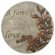 Home & Garden Family is A Circle of Love Stone Polyresin Spring Summer 1... - $29.39