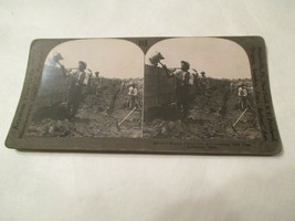 Mining Phosphate loading into cars near Columbia Tennessee TN Stereoview... - $14.99