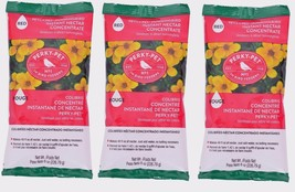 3~New! Perky Pet 8oz Instant HUMMINGBIRD Red Nectar Food Concentrate Mak... - $12.90