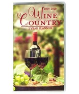 WINE COUNTRY PLANNER 2019-2020 2-year Pocket Organizer Calendar Agenda NEW - $8.99