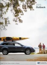 2013 Subaru OUTBACK brochure catalog 13 US 2.5i Limited Premium 3.6R - $8.00