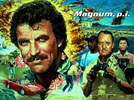 MAGNUM P.I. TV SERIES POSTER 24 X 36 INCH AWESOME! MAGNUM PI - $18.99