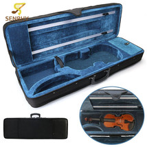 Violin case Premium Black 4/4 Full Size Violin Carry Hard Case with Cush... - $65.70