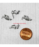 Wiseman(?)~O-Scale/1:48~Bench Vise X 4~White Metal Castings~Industrial,T... - $10.00