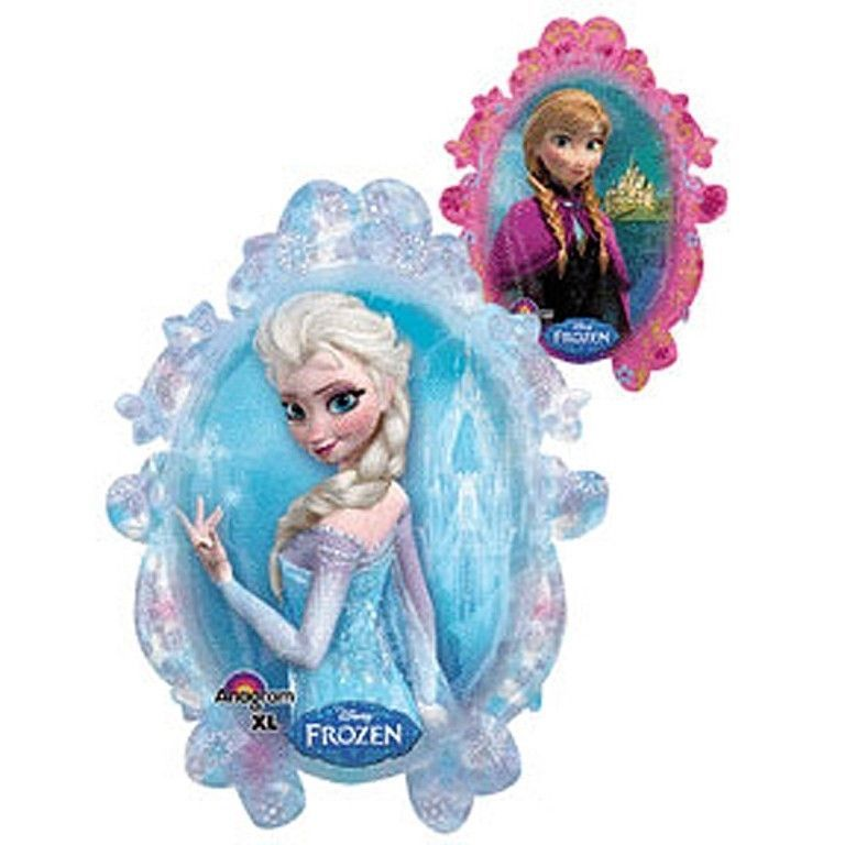 Disney Frozen Balloon Party Elsa Anna One (1) Double Sided Mylar Foil