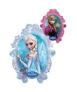 Disney Frozen Balloon Party Elsa Anna One (1) Double Sided Mylar Foil - $9.49