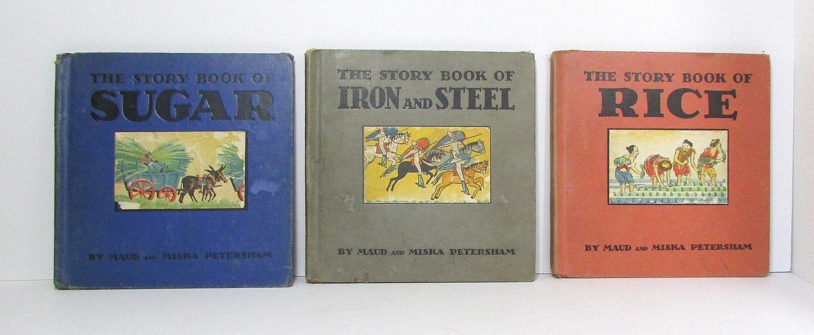 Maud & Miska Petersham Lot of 3 Children's 1st/1st Vintage 1930s Picture Books