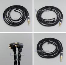 100 Ohm Pure Black 8 core Earphone Cable For Etymotic ER4B ER4PT ER4S ER... - $64.35+