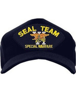 NEW Seal Team VI Special Warfare Cap. Made in USA. Navy Blue. Free Shipping - $16.99