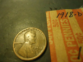 1918-D LINCOLN CENT COIN    **L@@K**        C/S - $1.98