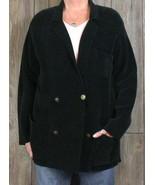 Lauren Ralph Lauren Cardigan Sweater Coat M L size Black Heavy Soft Womens  - $38.35