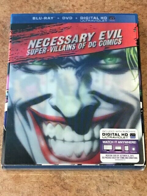 Primary image for Wholesale Lot of 10 Blu-rays / DVDs Necessary Evil NEW / SEALED