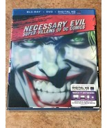 Wholesale Lot of 10 Blu-rays / DVDs Necessary Evil NEW / SEALED - $24.99