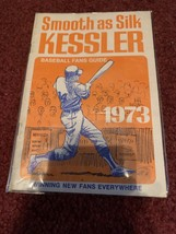 1973 Smooth as Silk KESSLER Baseball Fans Guide EX COND. - $2.99
