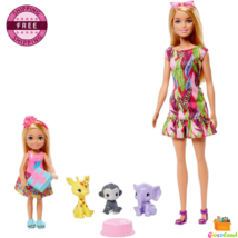 Barbie and Chelsea Dolls The Lost Birthday Playset 3 Pets & Accessories ... - $30.99