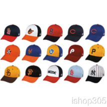 MLB Licensed Cooperstown Adult Replica Baseball Hat (Various Teams) - $12.50