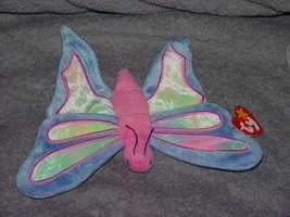 Ty Beanie Babies Original Flitter The Butterfly 1999 Retired 5th Gen Retired - $39.00
