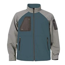 Stormtech Men's Aeros H2xtreme Shell Jacket Teal/Greystone Small